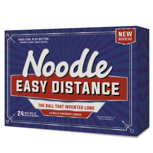 TaylorMade Noodle Easy Distance Golf Balls - 24 PK