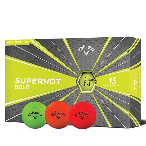 Callaway Superhot Bold 15PK Golf Balls