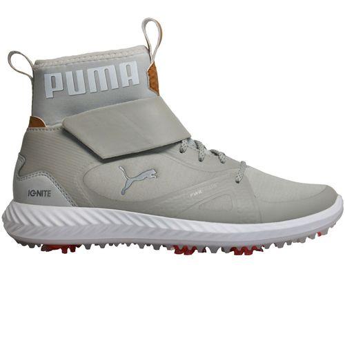 Puma Juniors' Ignite PWRAdapt Hi-Top Golf Shoes