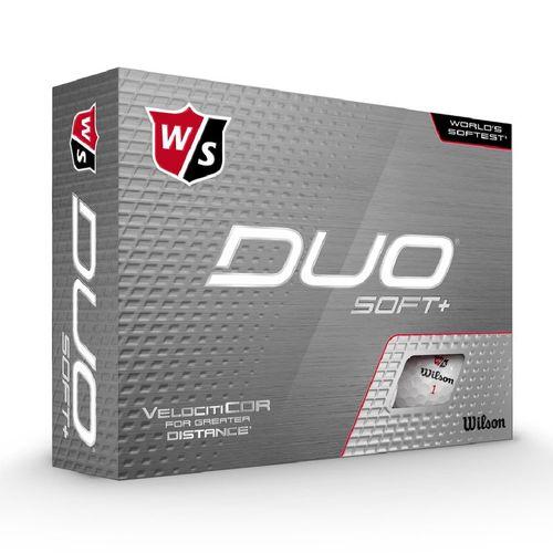 Wilson Duo Soft + Golf Balls