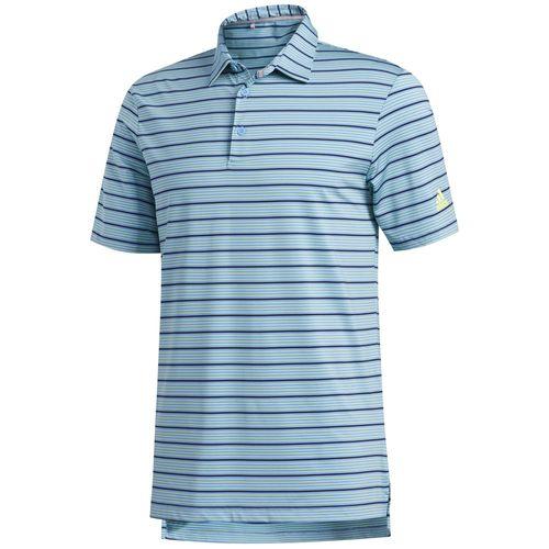 adidas Men's Ultimate365 Pencil Stripe Polo