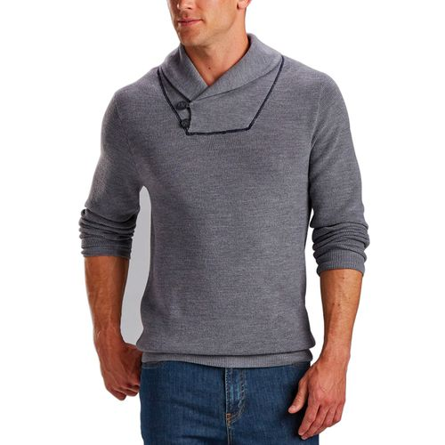Bobby Jones Men's Wool Silk Shawl Pullover