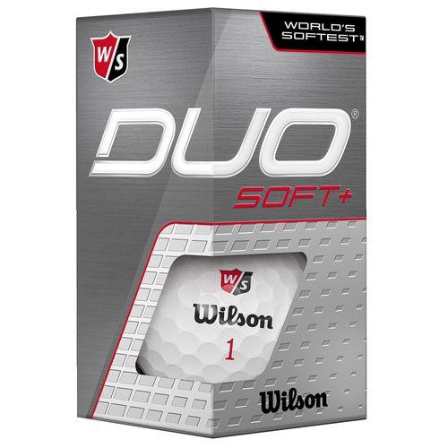 Wilson Duo Soft + Golf Balls - 2 Ball Sleeve