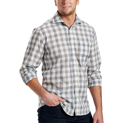 Bobby Jones Men's R18 Lux Cotton Ghost Long Sleeve Button Down