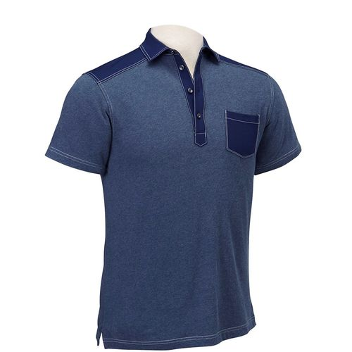 Bobby Jones Men's Rule 18 Scout Cotton Pocket Polo