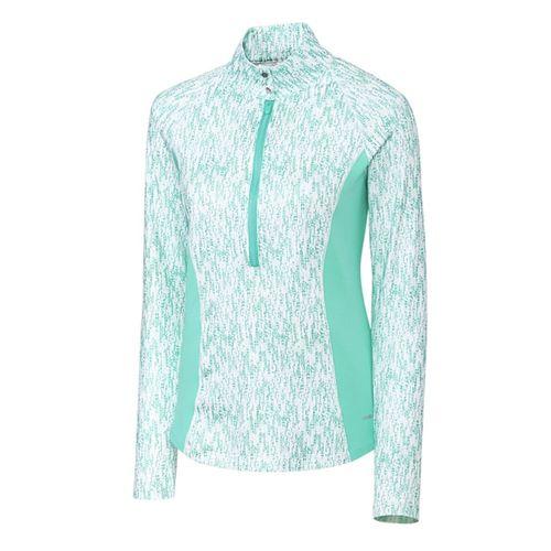 Cutter and Buck Women's Annika Rain Half Zip Sweater