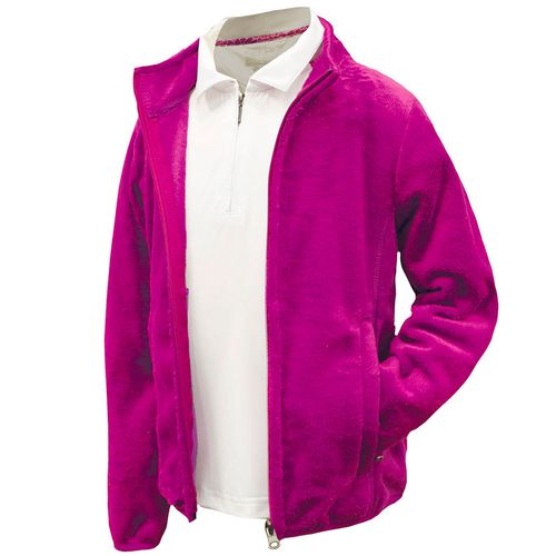 Garb Juniors' Girls Leslie Full Zip Plush Jacket