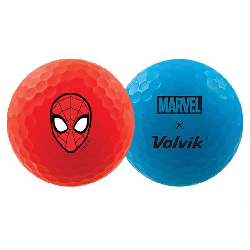 Volvik-Vivid-Marvel-Spider-Man-Edition-Golf-Balls---4-Pack-2104962