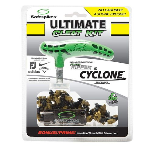 SoftSpikes Ultimate Clean Kit with Cyclone Fast Twist