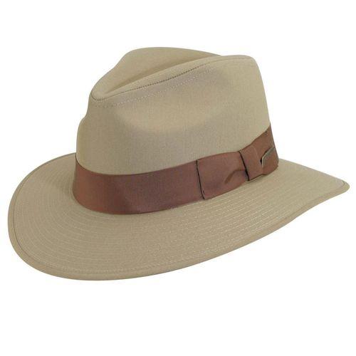 Dorfman Pacific Men's Indiana Jones Cotton Safari Hat