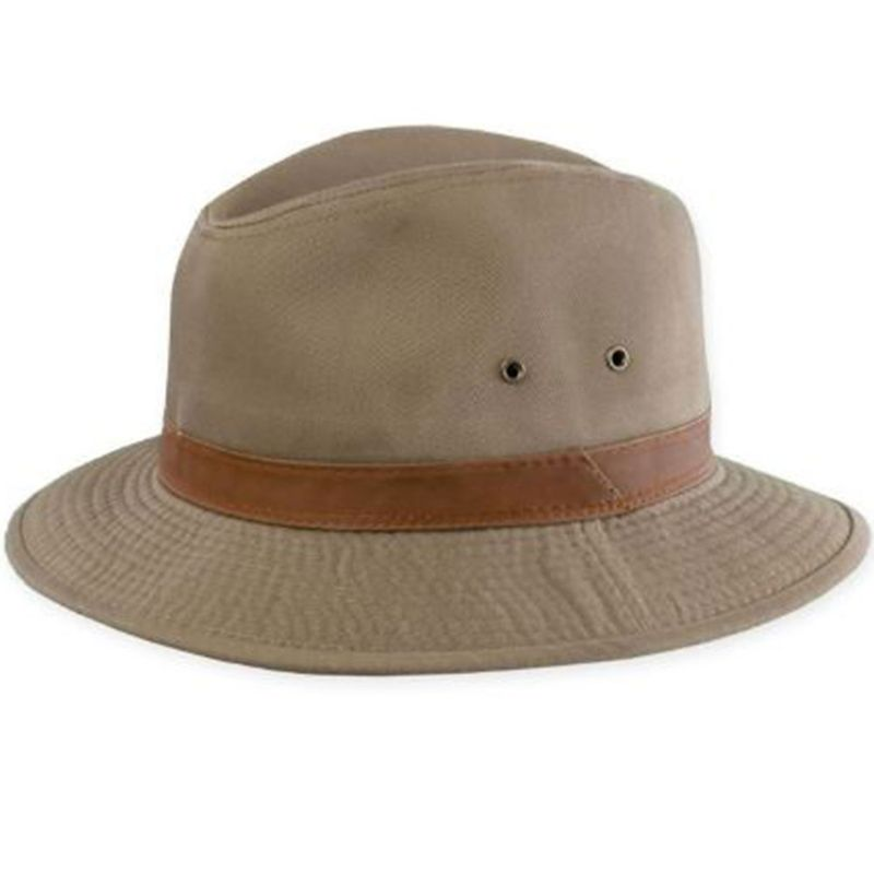 Dorfman-Pacific-Men-s-Twill-Safari-Hat-917499
