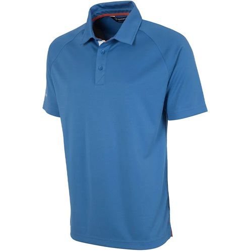 Sunice Men's Jack Coollite Stretch Solid Polo