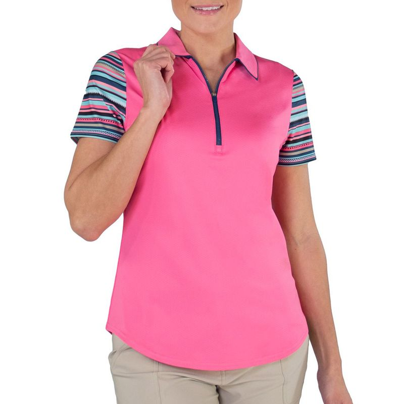 JoFit-Women-s-Printed-Sleeves-Tipped-Polo-3004814