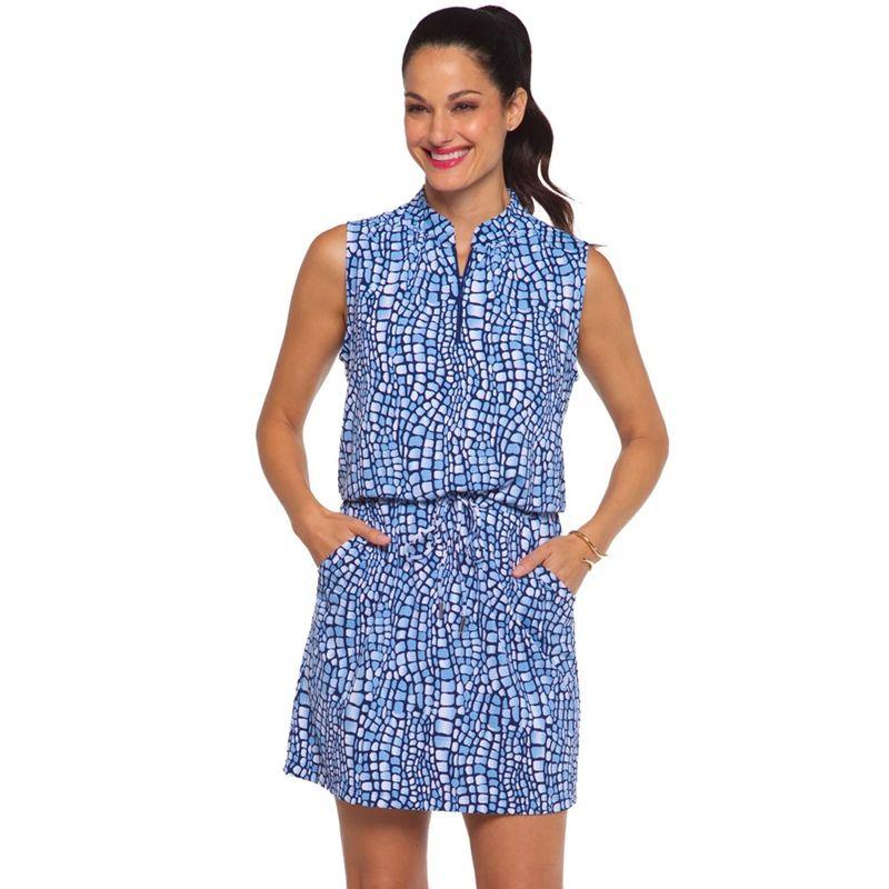 Ibkul-Women-s-Carie-Print-Sleeveless-Drawstring-Dress-2158107--hero