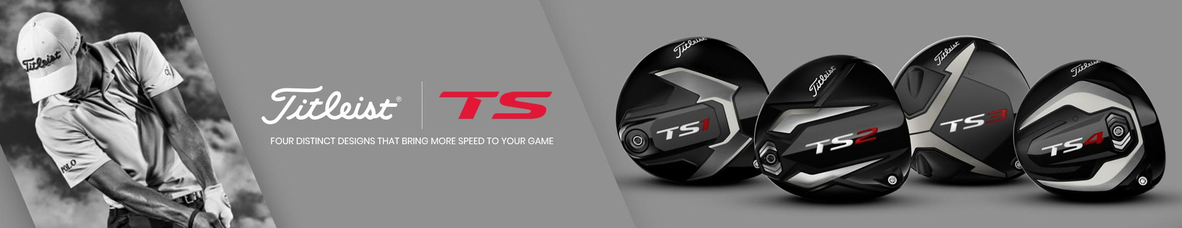 New Titleist Golf Clubs - Titleist TS Series