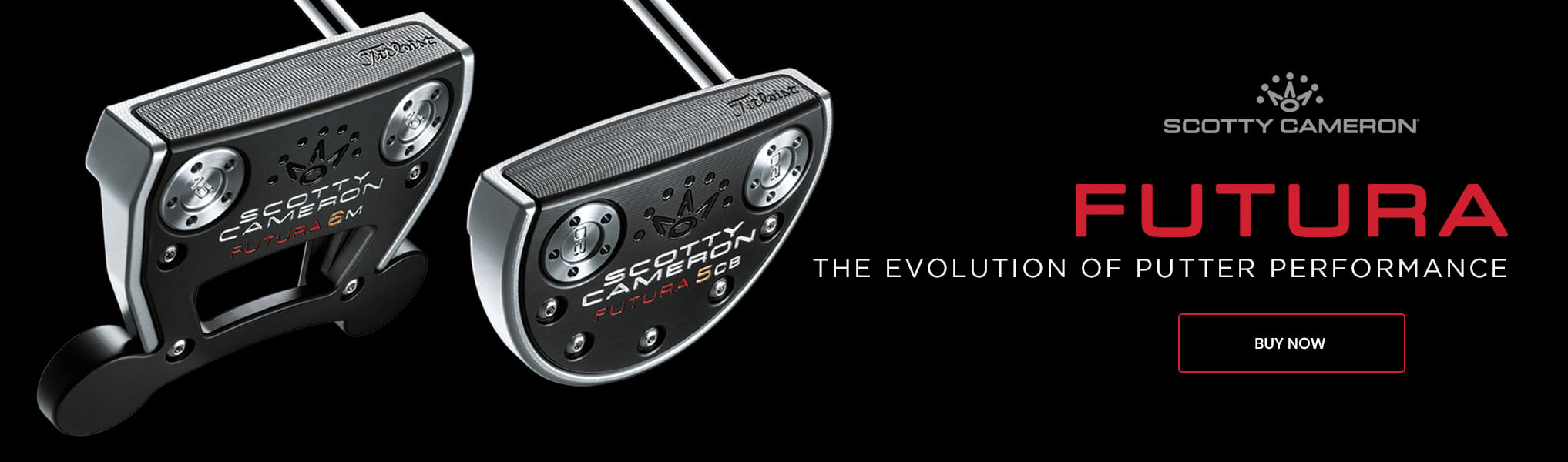 Scotty Cameron Futura golf putters