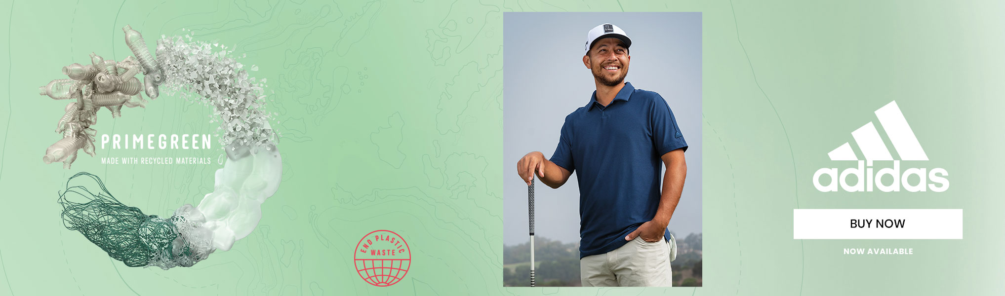 Dustin Johnson wearing Adidas Apparel