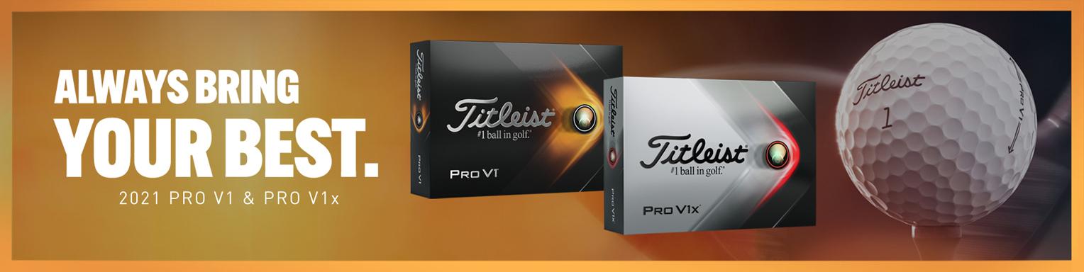 Titleist 2021 Pro V1 & Pro V1 x
