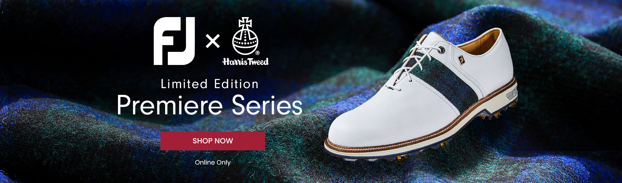 Footjoy Limited Edition Harris Tweed Black Watch Packard